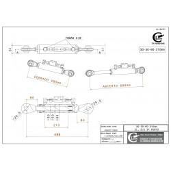 30-60-70-210 rotula fija y valvula tercer punto