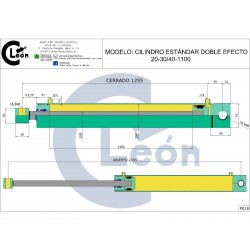 Cilindro D/E 20-30/40-1100