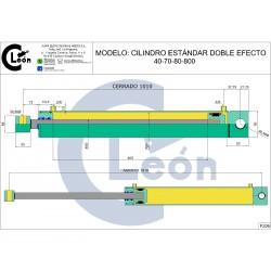Cilindro D/E 40-70/80-800