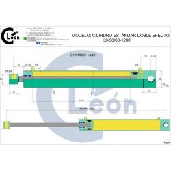 Cilindro D/E 30-50/60-1200